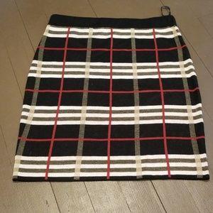 Plaid Skirt.